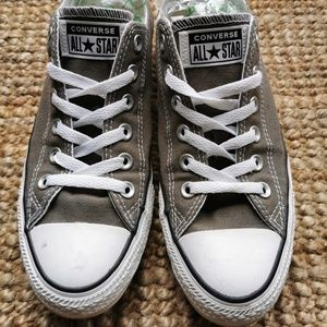 CONVERSE ALL STAR Low Cut Sneakers Grey 8.5